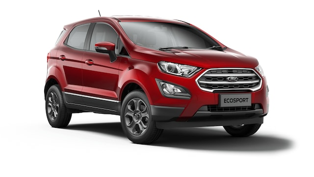 Ford New Ecosport - Available In Shadow Black