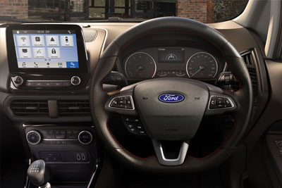 Ford New Ecosport - Keyless Entry With Ford Power Start Button